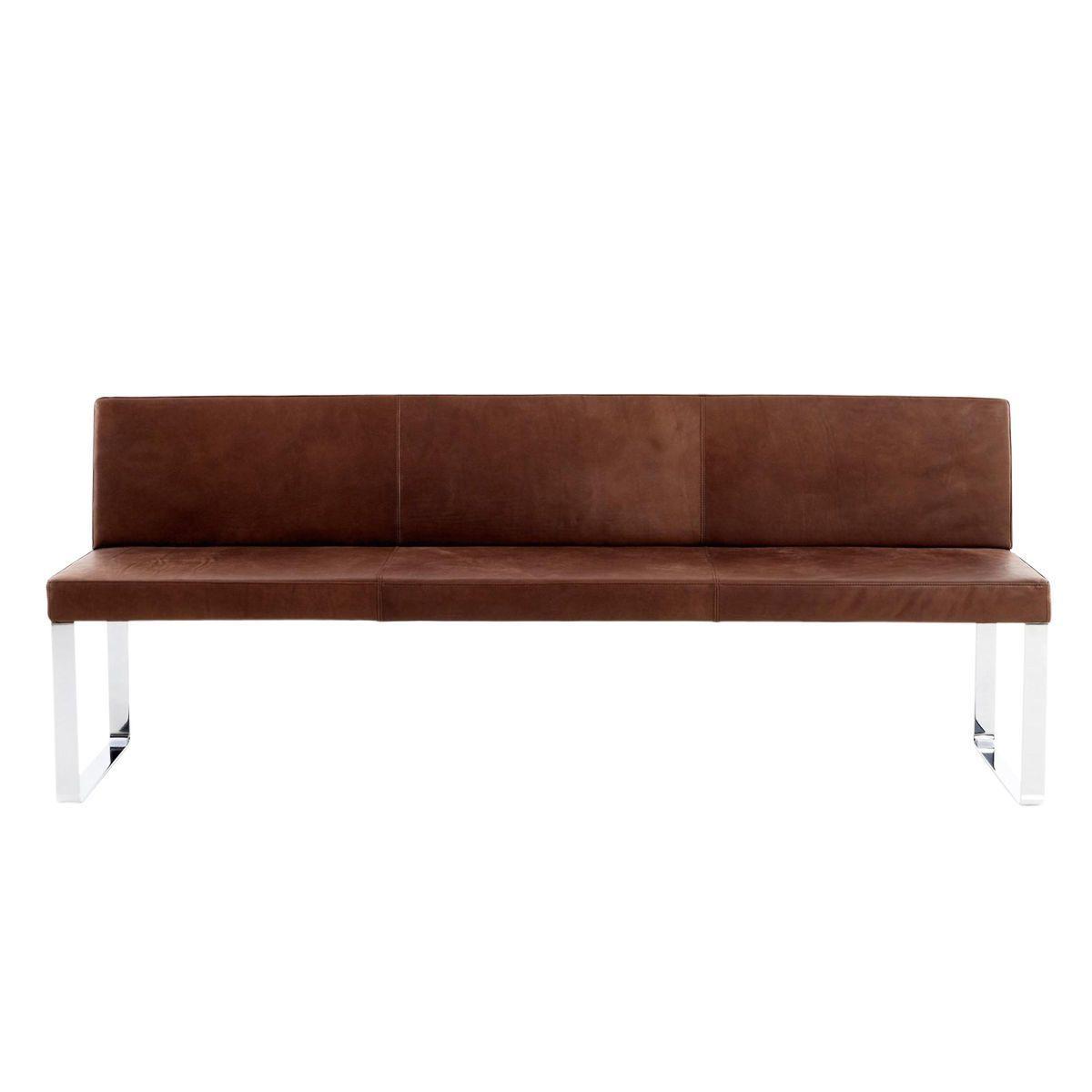 sitzbank leder amazing bank braun sitzbank braun bezug. Black Bedroom Furniture Sets. Home Design Ideas