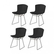 Knoll International - Bertoia Plastic Stuhl 4er Set