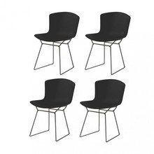 Knoll International - Bertoia Plastic - Set de 4 chaises