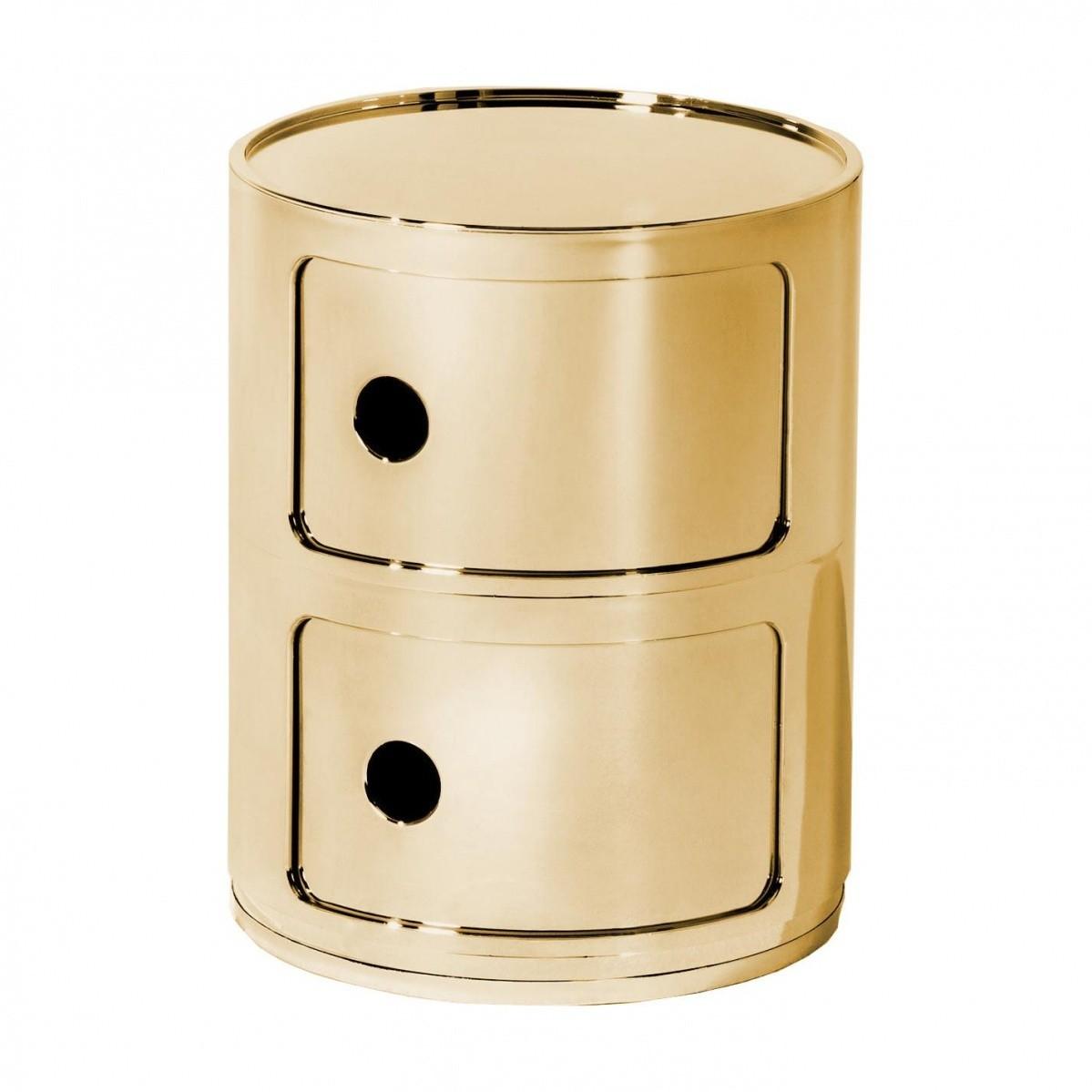 Table De Chevet Componibili componibili 2 metallic - conteneur