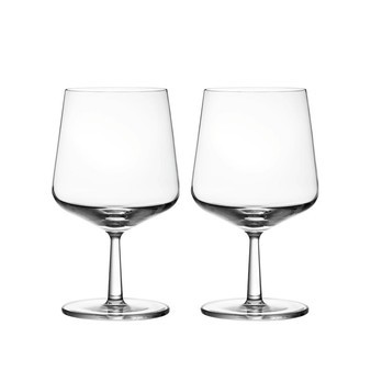 iittala - Essence Bierglas Set - transparent/48cl/2 Gläser