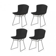 Knoll International - Bertoia Plastic - Set de 4 chaises