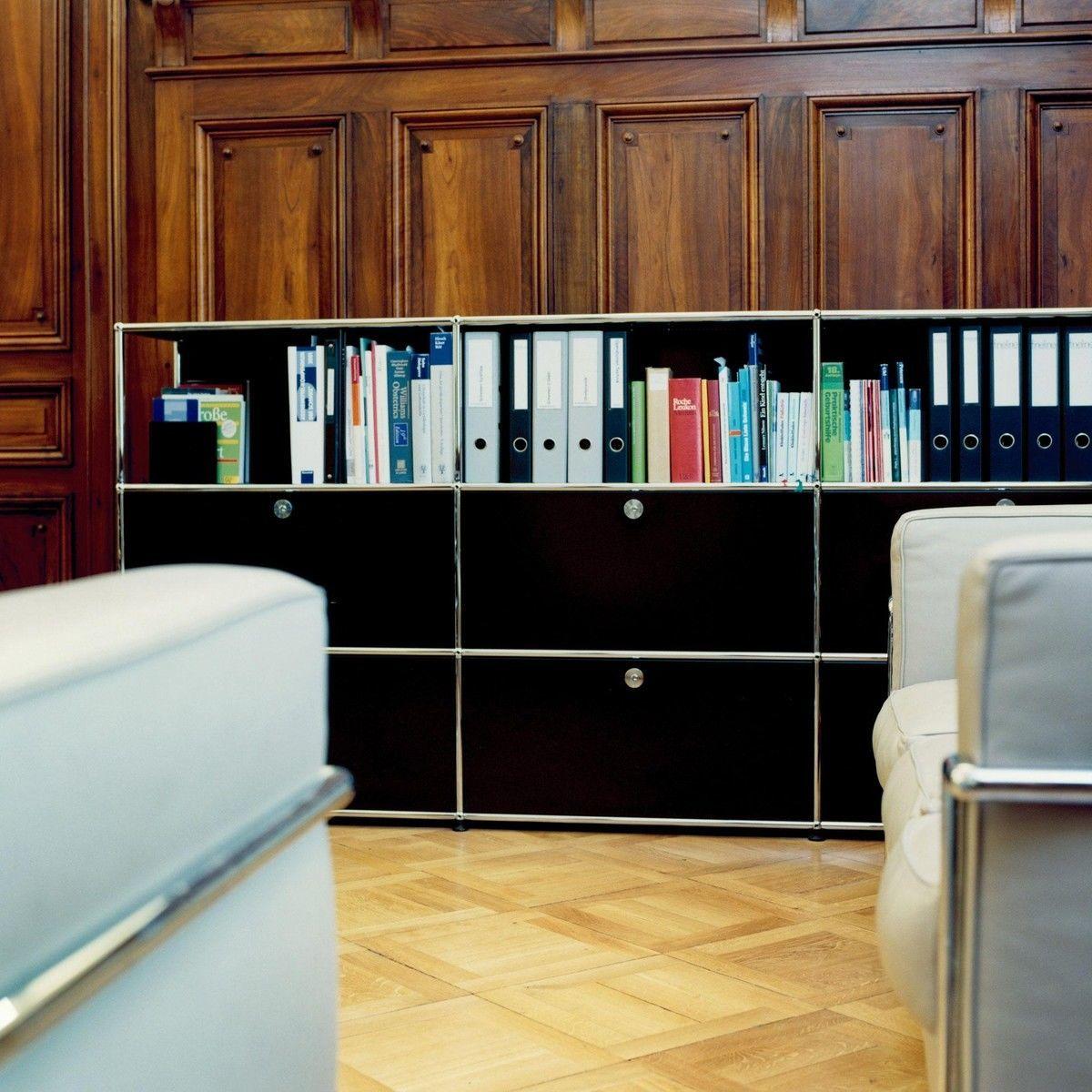 usm highboard mit 4 klappt ren usm haller. Black Bedroom Furniture Sets. Home Design Ideas