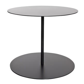 Cappellini - Gong Beistelltisch - anthrazit/matt/Größe 1/Ø50cm