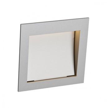 Nimbus - Zen In M LED Wandleuchte - Hohlraumeinbau - aluminium/für Hohlraumeinbau/LxBxH 12.2x12.2x3.4cm/2700K/85lm