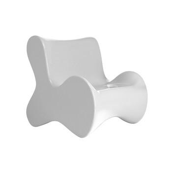 Vondom - Doux Sessel - weiß/glänzend