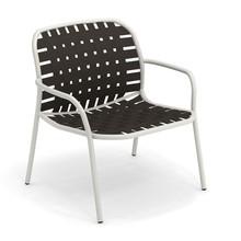 emu - Chaise de jardin lounge avec accoudoirs Yard