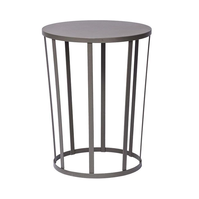 Hollo Stool/Side Table Ø35cm   Grey/H 44cm
