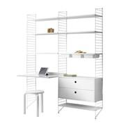 String - String - Combinaison de bureaux 158x200x30cm
