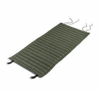 HAY - Palissade Steppkissen 103.5x44.5cm - olivgrün/wasserabweisend/für Palissade Dining Armlehnstuhl