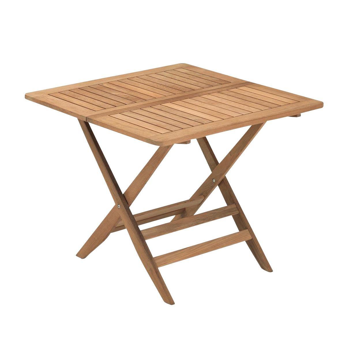 Gartentisch Sale.Nautic Folding Garden Table 85x85cm