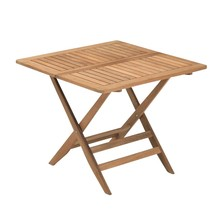 Skagerak - Table de jardin pliante Nautic 85x85cm