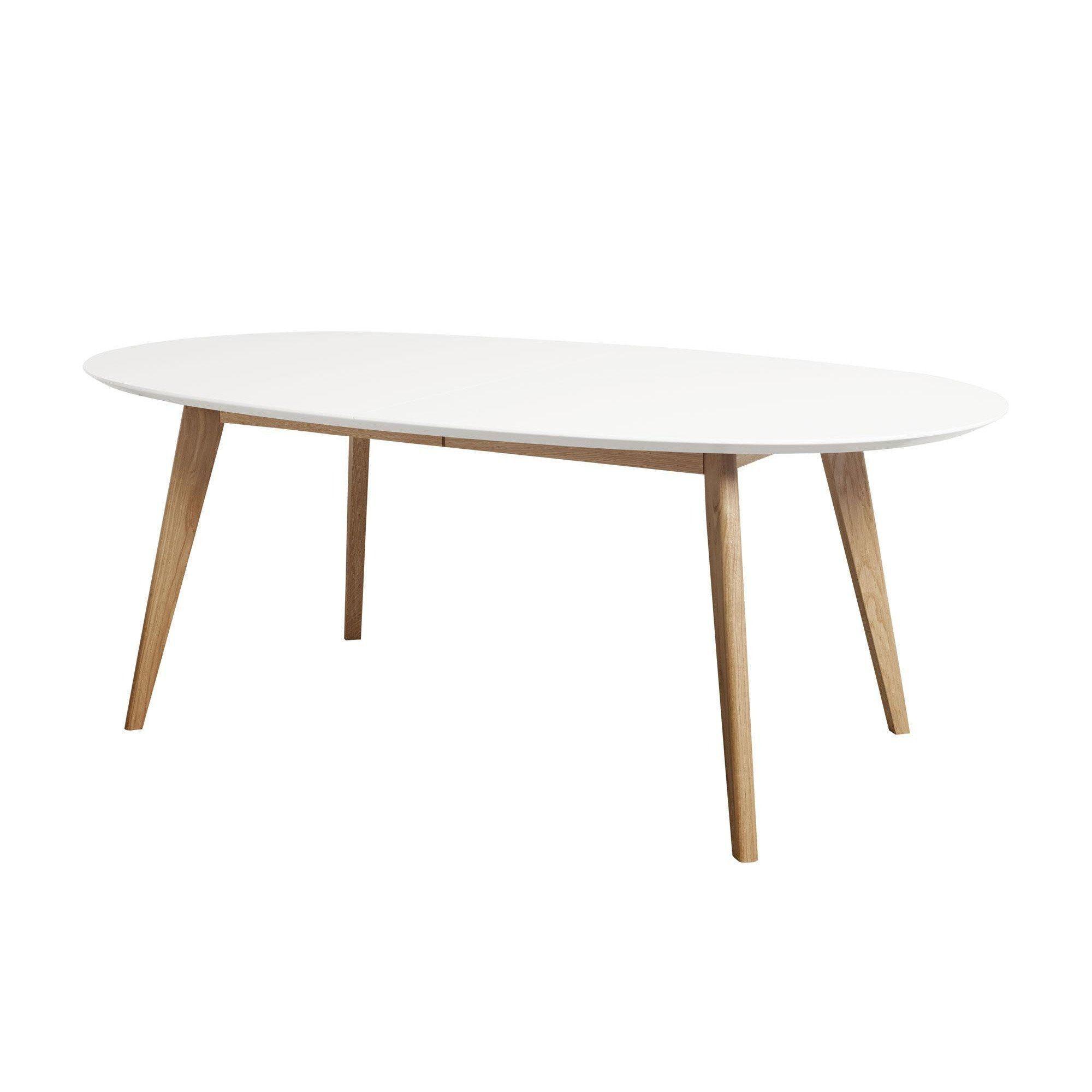 Bezaubernd Esstisch Massivholz Weiß Referenz Von Andersen Furniture - Dk10 Ausziehbar Beine -