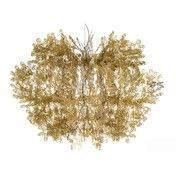 Slamp - Fiorella Pendelleuchte - gold/transparent/Ø76cm