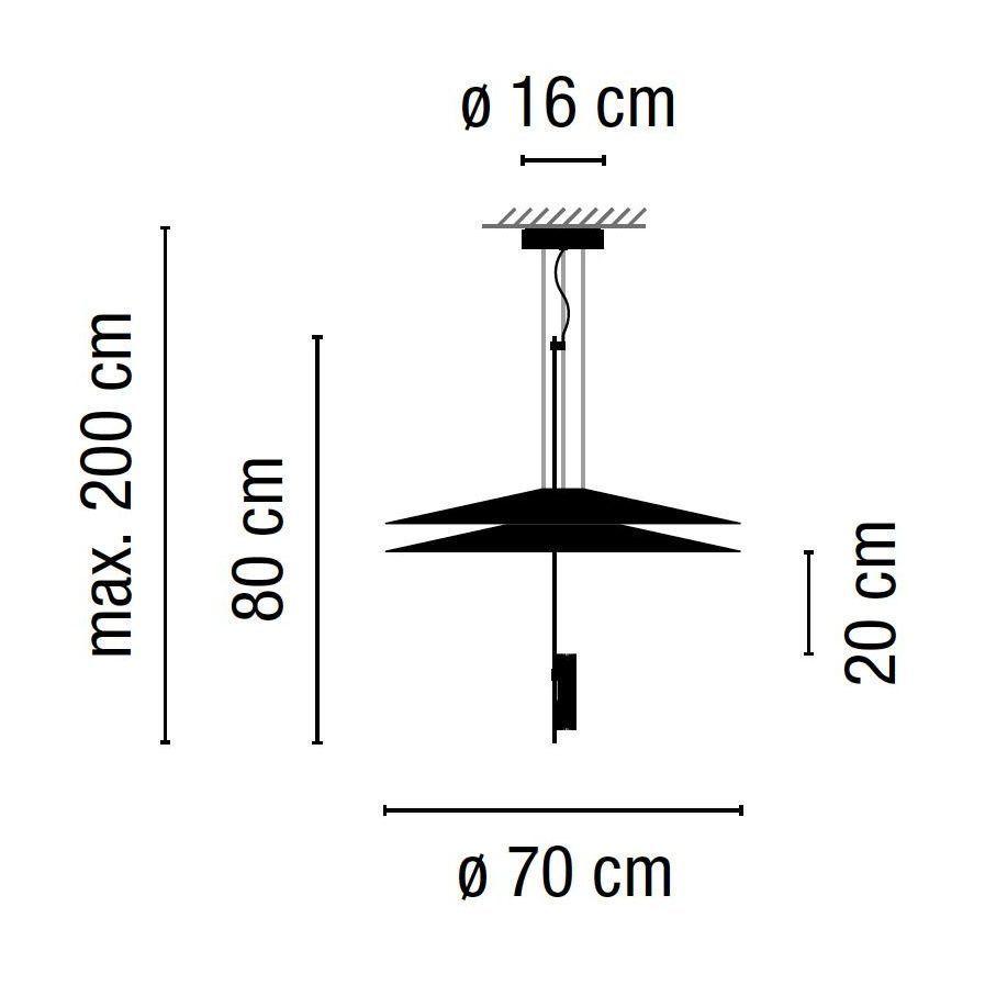 Flamingo 1510 Led Suspension Lamp Vibia Ambientedirect Com
