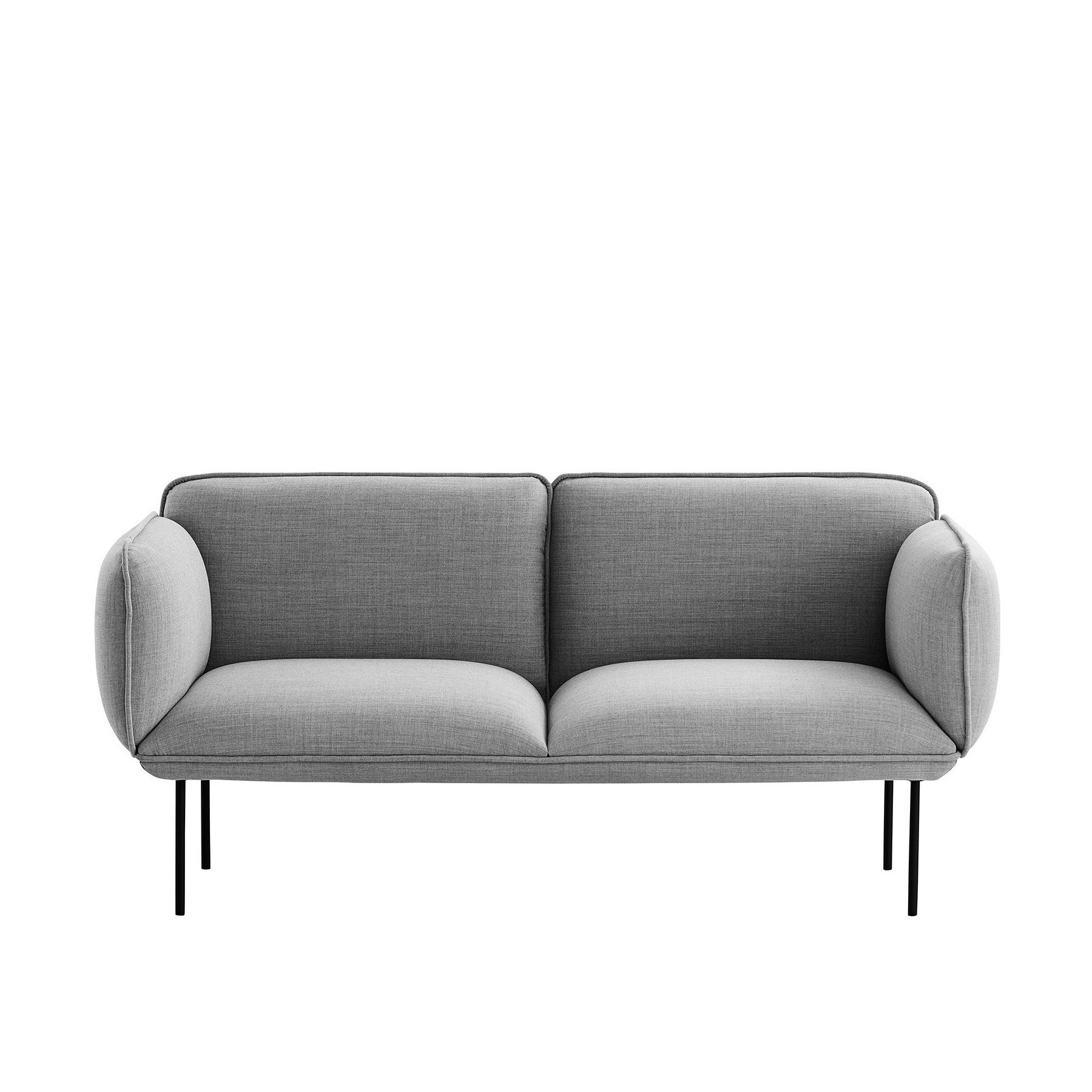 Nakki 2-Seater Fabric Sofa