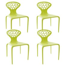 Moroso - Set de 4 sillas Supernatural