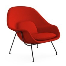 Knoll International - Womb Chair Relax Sessel Gestell schwarz