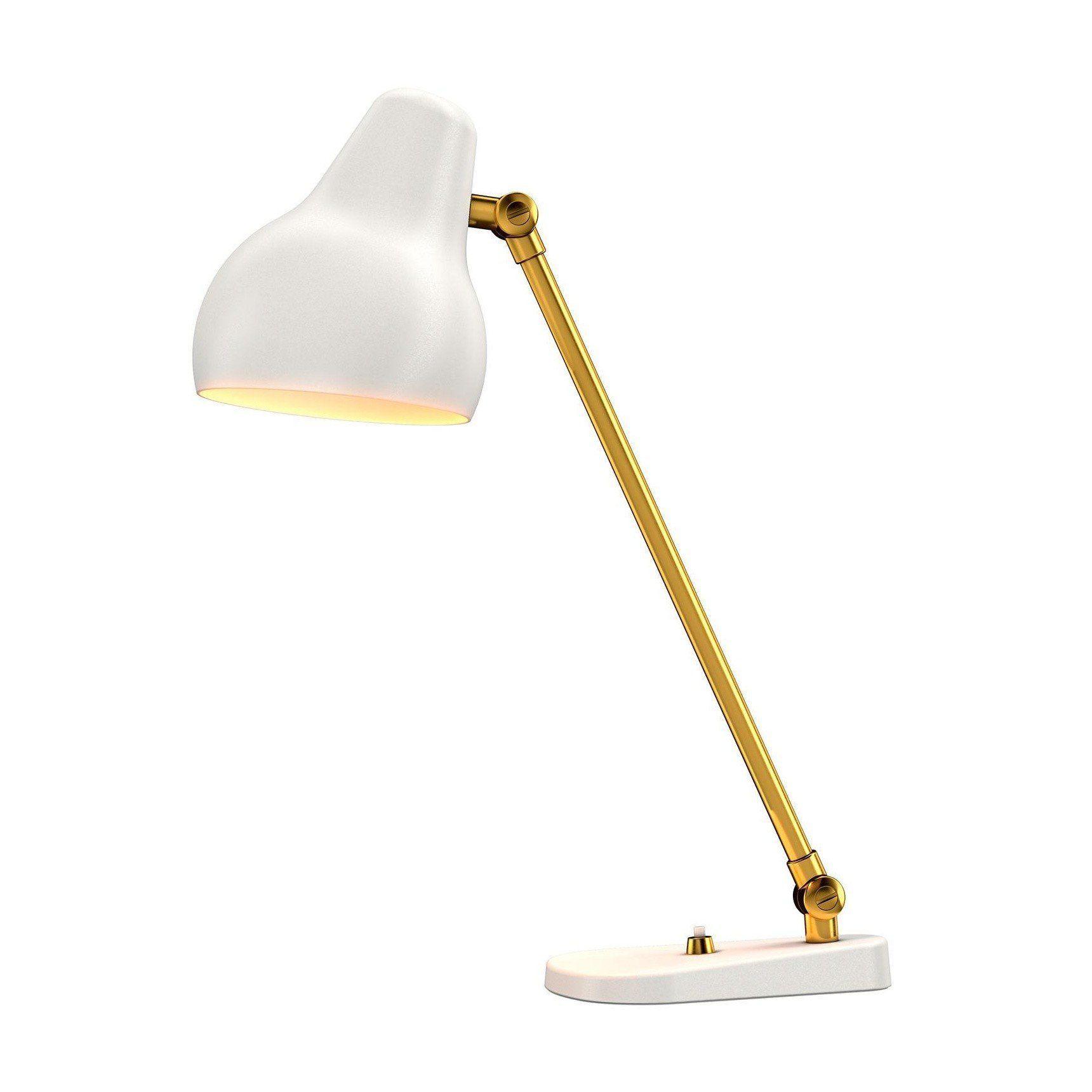 Vl38 led table lamp louis poulsen ambientedirect louis poulsen vl38 led table lamp whitepowder coated230v50hz aloadofball Choice Image
