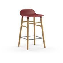 Normann Copenhagen - Form Barhocker Gestell Eiche 65