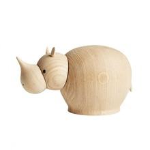 Woud - Rina Rhinoceros Wood Figure