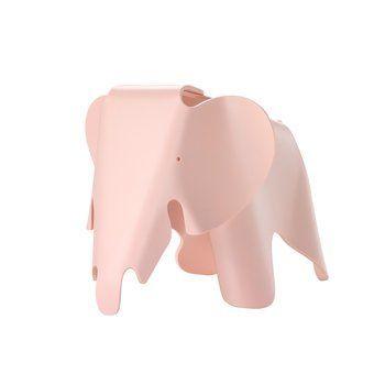 Vitra - Eames Elephant S - zart rosa/LxBxH 39x21,5x20cm