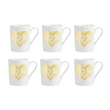 Vitra - Coffee Mug Love Heart -Set de 6 tasses à Café