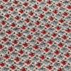 GAN - Garden Layers Small Gofre Kissen - blau/Handwebstuhl/LxB 45x45cm