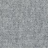 HAY - About a Chair 20 Armlehndrehstuhl gepolstert - weiß/dunkelgrau/Stoff Hallingdal 130/Gestell aluminium poliert/mit Spiegelpolster
