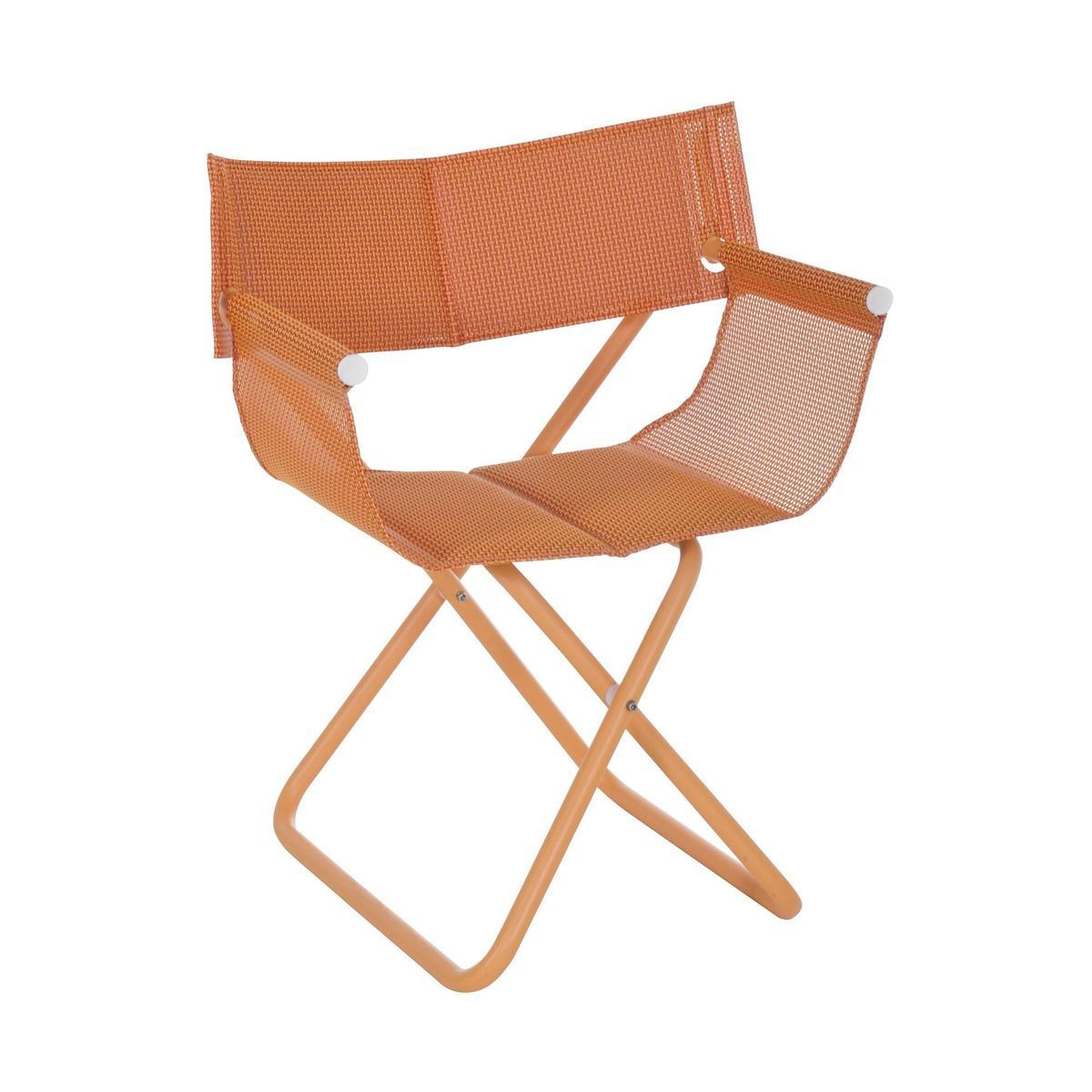 emu snooze directors chair orangeframe 65x60x82cm