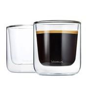 Blomus - Set de 2 verres à café isolé thermique Nero