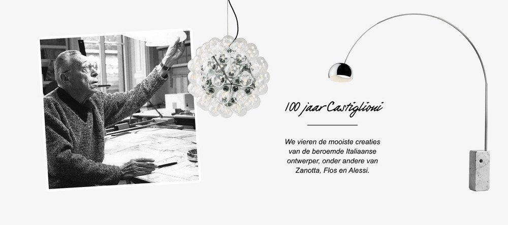 Designer Castiglioni Taraxacum Arco 01 NL