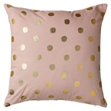Bloomingville - Golden Dots Cushion