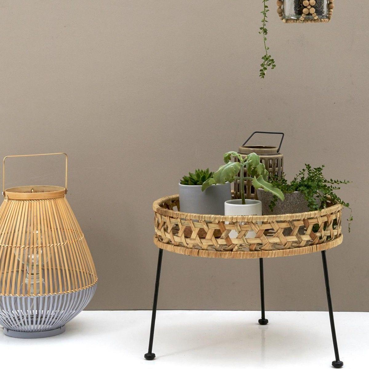 Bloomingville   Bamboo Floor Lamp