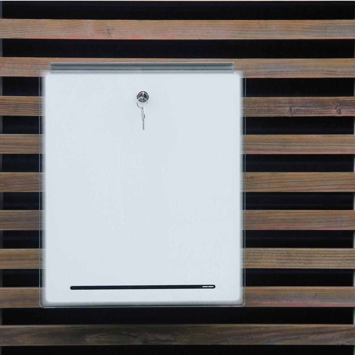 Radius Letterman letterman iii letter box radius ambientedirect com