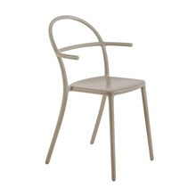 Kartell - Generic C - Chaise avec accoudoirs