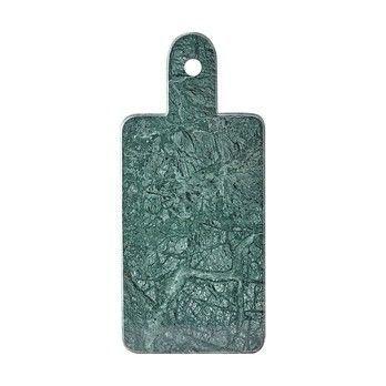 - Cheese Schneidebrett - grün/Marmor/18x40cm