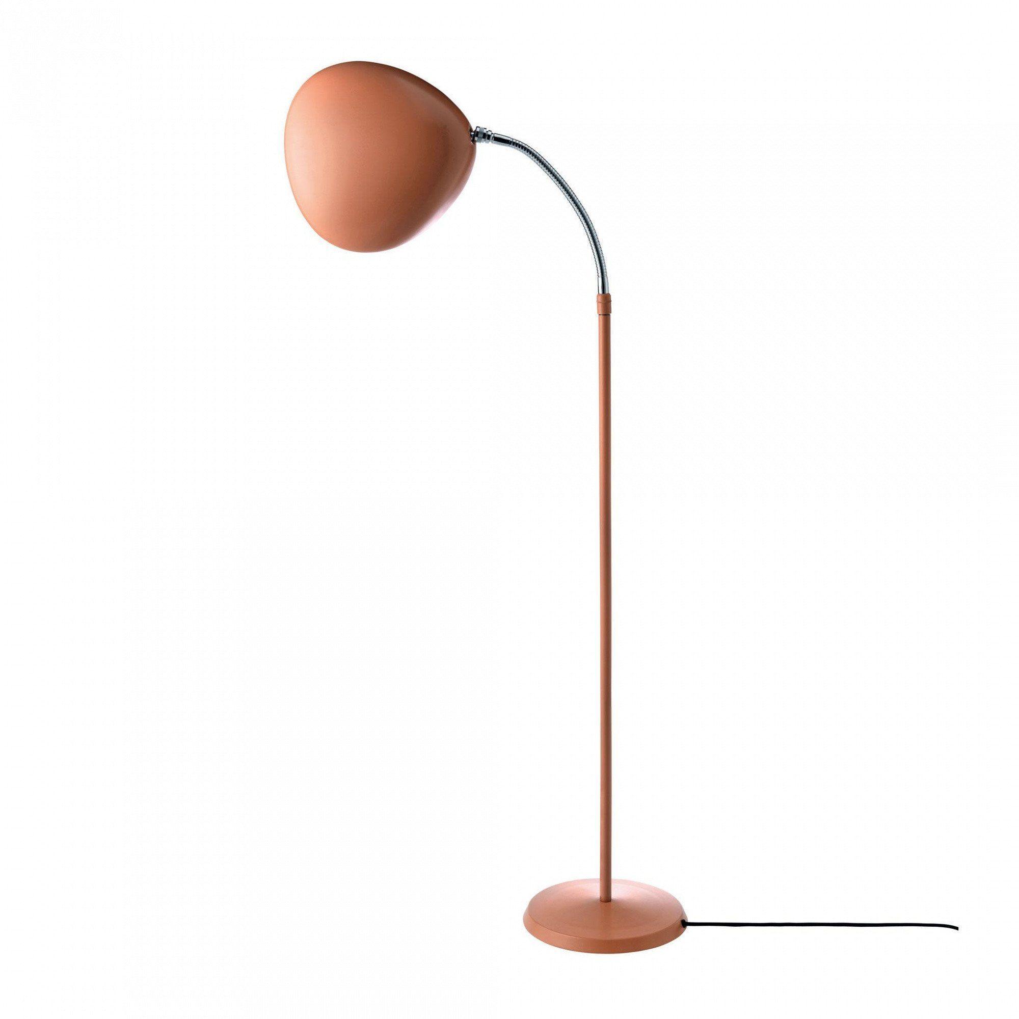 Gubi  Gubi Cobra Floor Lamp  Vintage Redh 118Cmcable