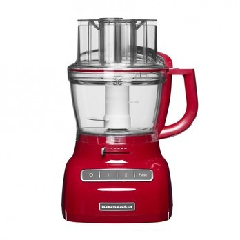 KitchenAid - Artisan Food Processor 5KFP1335 - empire rot/Edelstahl/300W, 220 - 240V