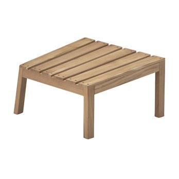 Skagerak - Between Lines Hocker - Teak/53.5x28x52.5cm
