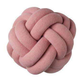 DesignHouseStockholm - Knot Kissen - pink/waschbar bei 30°C/30x30x15cm