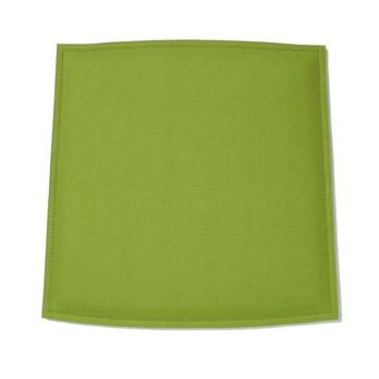 Hey-Sign - Toy Sitzauflage Schaumstofffüllung  - maigrün/Filz/Rückseite anthrazit antirutsch/Materialstärke 3mm