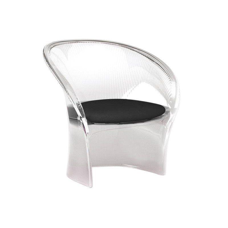 magis flower chaise transparente ambientedirect. Black Bedroom Furniture Sets. Home Design Ideas