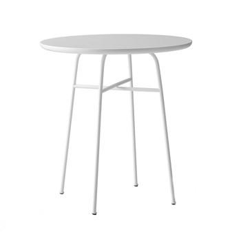 Menu - Afteroom Cafe Table Beistelltisch - weiß/pulverbeschichtet/H 73cm, Ø 68cm/MDF