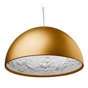 Flos - Skygarden 1 Pendelleuchte - gold opal / Ø60cm/matt