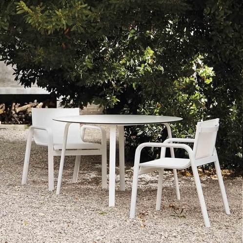 Gandia Blasco - Stack Gartentisch rund