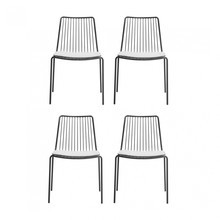 Pedrali - Pedrali Nolita Garden Chair + Cushion Set Of 4