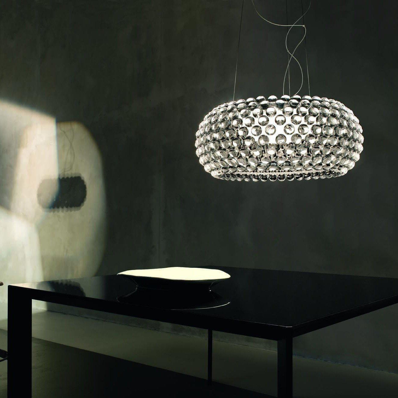 foscarini caboche grande led suspension ambientedirect. Black Bedroom Furniture Sets. Home Design Ideas