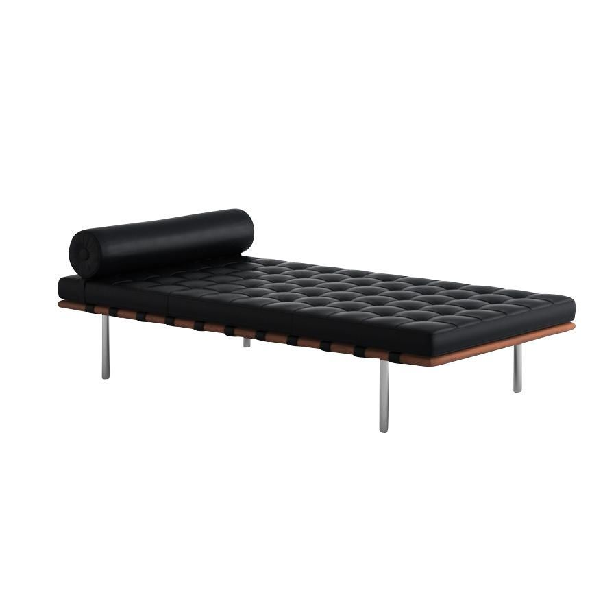 barcelona mies van der rohe liege daybed knoll. Black Bedroom Furniture Sets. Home Design Ideas