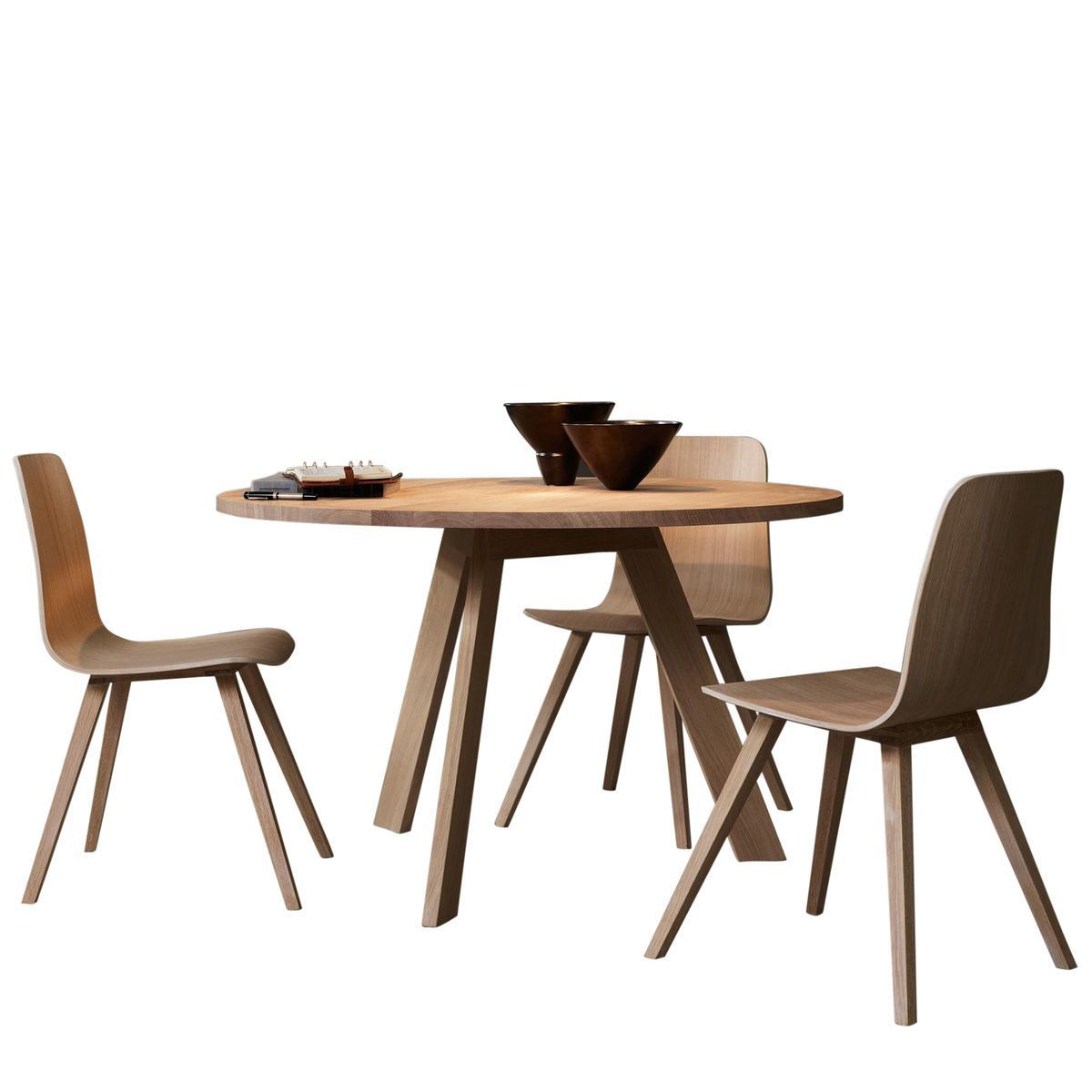Tosh solid wood dining table more for Solid wood dining table